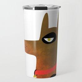 Pinscher Dog Travel Mug