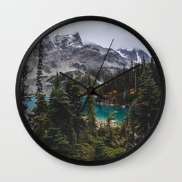 Joffre Lakes Wall Clock