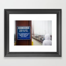 There is hope Framed Art Print