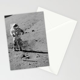 Apollo 17 - Commander Gene Cernan Stationery Cards
