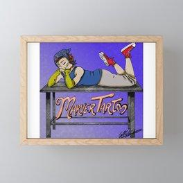 MarverTart Framed Mini Art Print