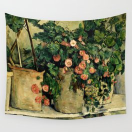 """Paul Cezanne """"Quiet life with Petunien"""" Wall Tapestry"""