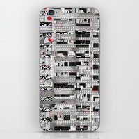 u2 iPhone & iPod Skins featuring Opportunistic Species (P/D3 Glitch Collage Studies) by Wayne Edson Bryan