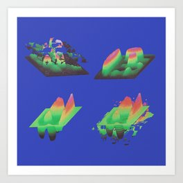 NES CPU Jams Art Print