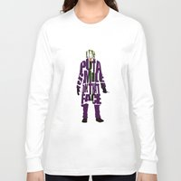 joker Long Sleeve T-shirts featuring Joker by Ayse Deniz
