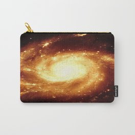 Golden Spiral Galaxy Carry-All Pouch