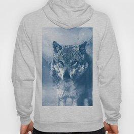 Snow Wolf Hoody