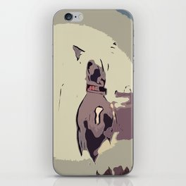 Chinese crested 8 iPhone Skin