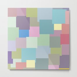 Sticky colours Metal Print