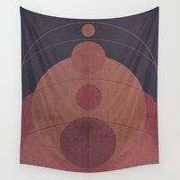 gravity Wall Tapestries featuring Gravity Ruins My Solar by Picomodi
