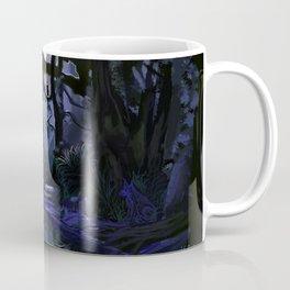 The Owl and the Wolf Coffee Mug
