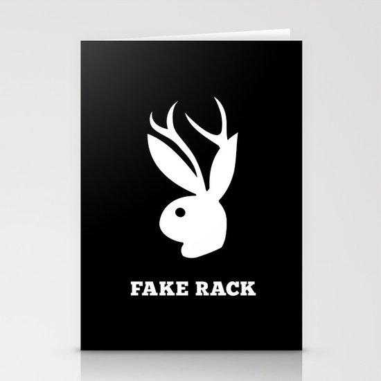 Fake Rack Stationery Cards