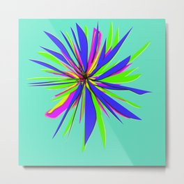 Abstract flower series Metal Print