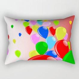 Fly Away Balloons Rectangular Pillow