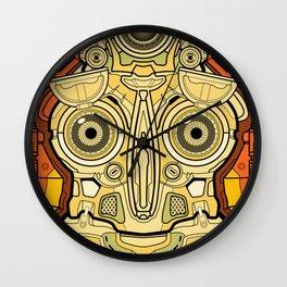 Mech Mandala Robot Wall Clock