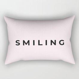 smiling Rectangular Pillow