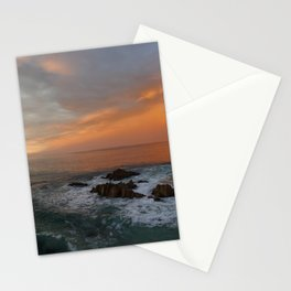 """I need the sea because it teaches me."" ~ Pablo Neruda Stationery Cards"