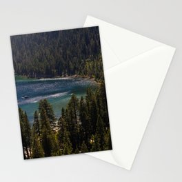 Emerald Bay State Park, South Lake Tahoe  Stationery Cards