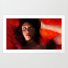 Female 6 Art Print