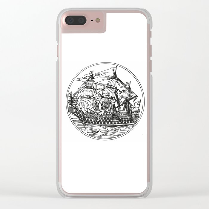 Galleon Clear iPhone Case