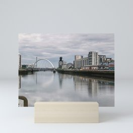 Glasgow Cityscape Mini Art Print
