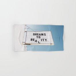 Dreams to Reality Hand & Bath Towel