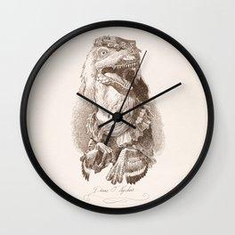 Diane O' Nychus Wall Clock