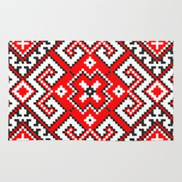 Cross stitch pattern Rug
