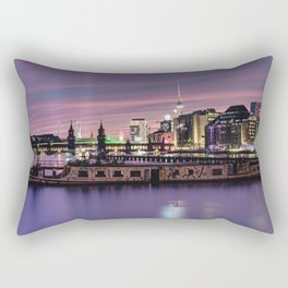 Berlin Purple Rectangular Pillow