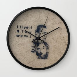 Cemented Series 2 Wall Clock