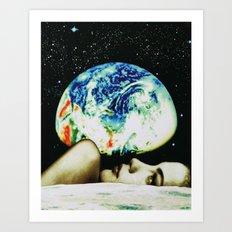 moon view Art Print
