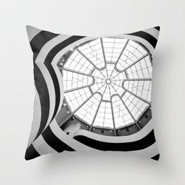 Interior Guggenheim NY Throw Pillow