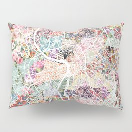 Toulouse map Pillow Sham