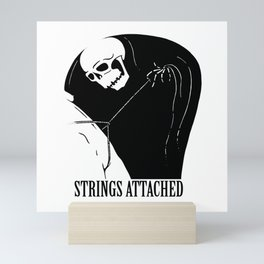 Strings Attached Mini Art Print