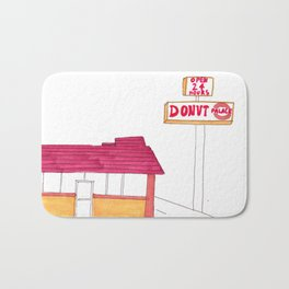 Donut Palace - Imperial Avenue Bath Mat