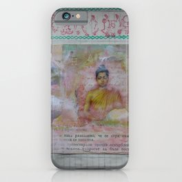 Buddha Collage - JUSTART (c) iPhone Case