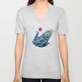 The Welcoming Sea Unisex V-Neck