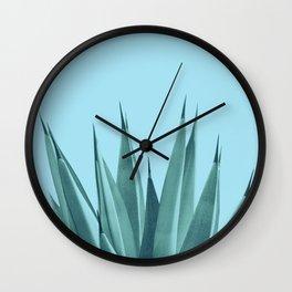 Blue Agave Dream #1 #tropical #decor #art #society6 Wall Clock