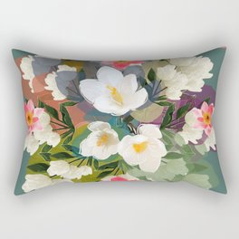 Flower & the Glory Rectangular Pillow