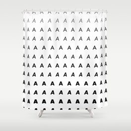 For Type Lovers. Futura. A Shower Curtain