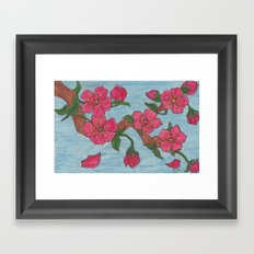 Ephemeral Beauty Framed Art Print