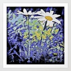 Queens of the meadows Art Print