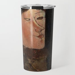 "Amedeo Modigliani ""Beatrice Hastings"", 1916 Travel Mug"