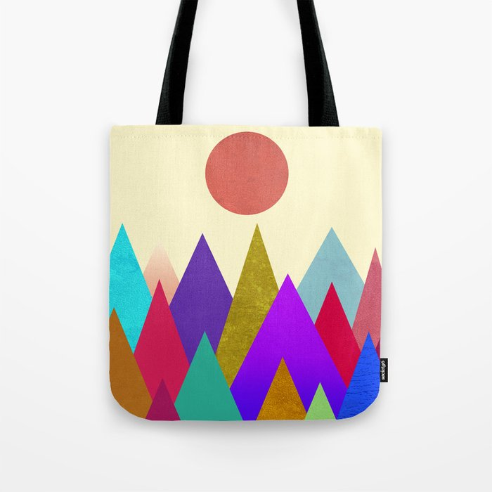 Abstract #441 Tote Bag