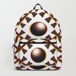 Garnet and Gold Golf Backpack