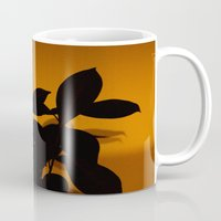 shadow Mugs featuring Shadow by lenomadecom