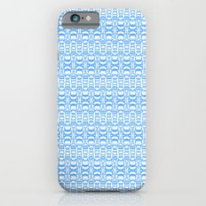 Dividers 07 in Light Blue over White Slim Case iPhone 6s