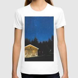 Cabin Under the Stars T-shirt