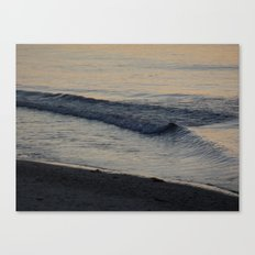 A Good Morning Wave Canvas Print