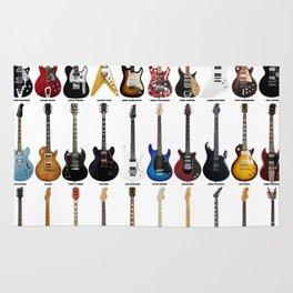 Guitar Legends Rug